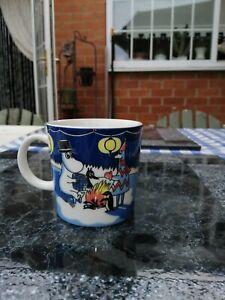 Moomin mug Arabia Winter Bonfire