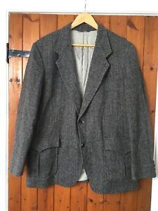 Vintage Pendleton Western/Cowboy Herringbone 100% Wool Jacket size 42 VGC