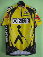 Maillot cycliste ONCE Giant Tour de France Jersey Wurth cycling Vintage - 5 / XL