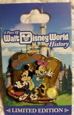 Disney Piece of History Pin - WDW Mickey & Minnie- Dance Palace- Treasure Isl LE