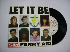 "FERRY AID - LET IT BE - 7"" VINYL HOLLAND 1987 - PAUL MCCARTNEY - KATE BUSH"