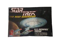 """1988 AMT ERTL Star Trek USS Enterprise Starship 18"""" Model Kit #6619"""