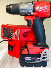 Milwaukee 2804-20 M18 FUEL 18V 1/2in Hammer Drill/Driver + (1) 3.0AH (1) Charger