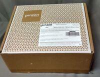 Pinzon 400-Thread-Count Pleated Hem Egyptian Cotton Sateen Duvet Set King Cloud