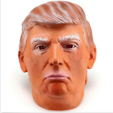 Adult Donald Trump Halloween Full-head Latex Mask Cosplay Costume FunnyProp  US!