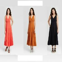 Women's Sleeveless Tiered Dress - Universal Thread™ CHOOSE COLOR&SIZE