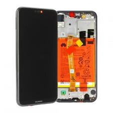 Original Huawei P20 LITE (ANE-L21) Display LCD mit Rahmen und Akku - Schwarz