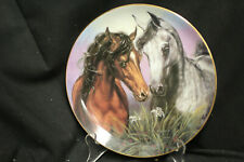 """Susie Morton - """"Love Conquers All"""" Plate From the""""Noble and Free"""" Series"""