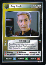 STAR TREK CCG TROUBLE WITH TRIBBLES RARE CARD BARRY WADDLE