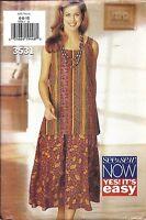 UNCUT Vintage Butterick Sewing Pattern Misses Pullover Top Skirt 3531 6 8 10 OOP