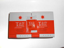 50 Tantowel Half Body Plus $140 RETAIL! Medium to Dark Tone Tan Towels FRESH!