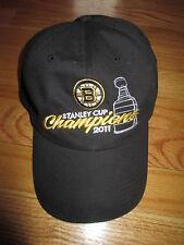 Fan Favorite Label - 2011 BOSTON BRUINS Stanley Cup Champions (Adj) Cap