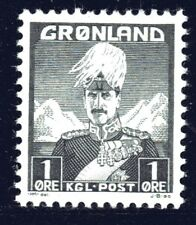 Greenland 1938 1 Ore King Christian X Mint Unhinged