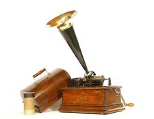 Near Mint 1910 Edison Standard Phonograph * 2/4 Minute * All Original * Stunning