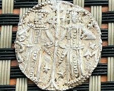 IVAN ALEXANDER MICHAEL ASEN IV 1331-1371 AD JESUS CHRIST SILVER MEDIEVAL COIN