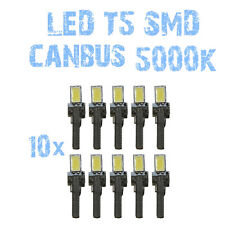 N° 10 Gloeilampen LED T5 CANBUS 5000K SMD 5630 Koplampen Angel Eyes DEPO FK 1B6