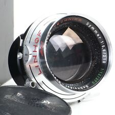 ^Schneider Linhof Technika Symmar Double Convertible 210mm f5.6/370mm f12 Lens!
