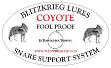 Blitzkrieg Lures-6-Fool Proof Coyote Snare System-Snare And Support All In One