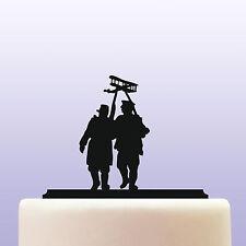 Acrylic World War 1 Allied Solders Cake Topper & Military History Keepsake Gift