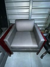 Executive Side Reception Chair Office Salon Waiting Room Guest Reception Gray