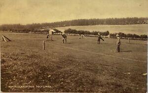 LLANIDLOES Golf Links Postcard.