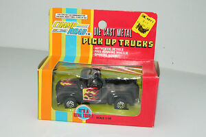 CHAMP OF THE ROAD HONG KONG FORD PICKUP TRUCK, BLACK, 1:43, NEW IN BOX, LOT B