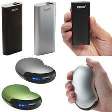 Zippo HeatBank Rechargeable Handwarmer USB Powerbank Pocket Reusable Sports Golf