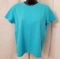 Liz Claiborne Womens Blue Shirt Top Blouse Size S