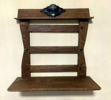 ARTS & CRAFTS MISSION  OAK WALL DISPLAY SHELF