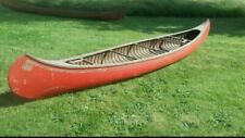 New listing OLD TOWN CANOE OTCA  Wood and Canvas Canoe 17FT Needs Restoration