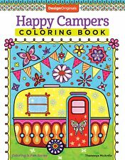 Happy Campers Coloring Book (Coloring Is Fun), Thaneeya McArdle, New