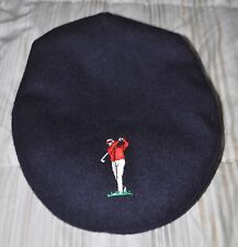 Hanna Hat by Donegal Ireland Navy Wool Golf Newsboy Cabbie Newsboy cap hat