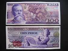 México 100 pesos 5.7.1978 serie jr (p66b) UNC