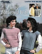 Pretty Patterned Vests | Leisure Arts 519