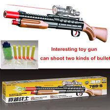 Kid Toy Guns Sniper Gun Soft Bullet Rifle Gun Plastic Toys Infrared Outdoor Cool