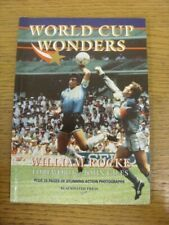 c1994 Football Book: World Cup Wonders By William Rocke, Foreword By John Giles,