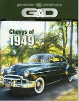 1949 Chevys - G & D Generator Distributor Magazine, Jan 2012 Issue