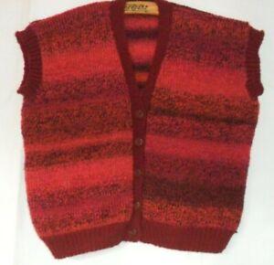 Hand Knitted Ladies Waistcoat