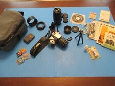 Canon EOS Rebel XTi 400D 10.1 MP Silver Tons of  Accessories!! VS32