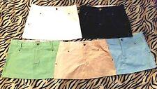 Cotton Blend Regular Mini Solid Skirts for Women