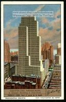 Lincoln Building New York City 1930s Trade Ad Card