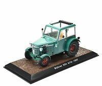 ATLAS EDITIONS - BUHRER DDI 4/10 - 1957 TRACTOR  - 1:32 -  BOXED/DISPLAY STAND