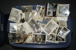 Lot of 70+ Old Photos 1960's and earlier