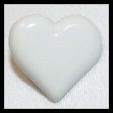 CUTE LOVE HEART SHAPE SHANK BUTTONS FOR CARDIS, BABIES TODDLERS SIZE 16mm