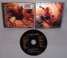 CD SOUNDTRACK Spiderman (SPIDER MAN) 3D LENTICULAR COVER CANADA