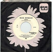 MFD IN CANADA FRENCH QUEBEC POP ROCK 1988 45 RPM DIANE DUFRESNE : KABUKI