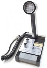 CB RADIO BASE MICROPHONE ZETAGI MB+5 VU METER 250-3500Hz TONE REGULATION 23 dB