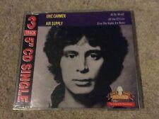 Rare Eric Carmen & Air Supply 3 Track Old Gold CD Single