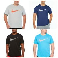 Nike Men's Tee Blue Grey Black LT Dri-Fit T-Shirt