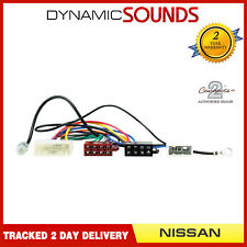 CT20NS06 Car Stereo ISO Harness Adaptor Wiring Loom for Nissan Juke, Qashqai
